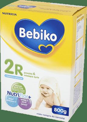 BEBIKO 2R NutriFlor+ (800g) – Mleko modyfikowane z kleikiem ryżowym 6. miesiąca