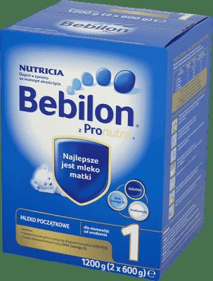 BEBILON Pronutra+ 1 (1200 g) – Mleko początkowe od urodzenia