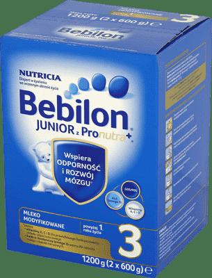 BEBILON Junior 3 (1200 g) Pronutra+ Mleko dla dzieci po 12. miesiącu