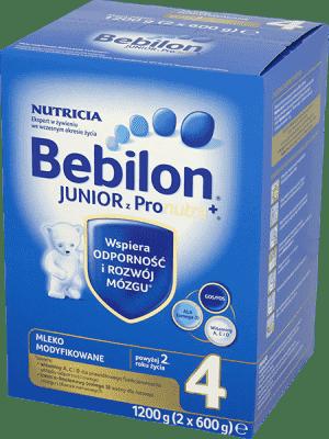 BEBILON Junior 4 (1200 g) z Pronutra+ mleko dla dzieci 2. roku życia