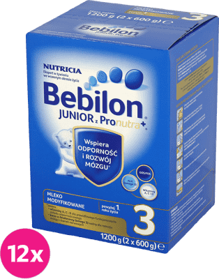 12x BEBILON Junior 3 (1200g)
