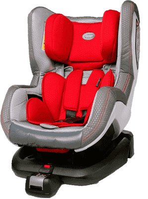 4BABY Neo-FIX (0-18kg) Autosedačka – Červená