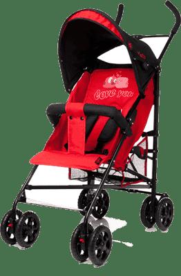 4BABY Golfky Rio XV – červené