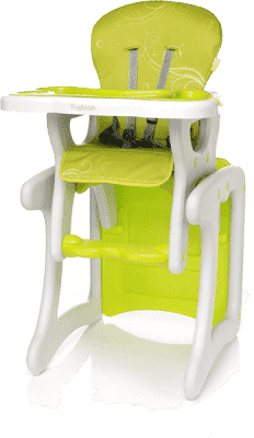 4BABY Židlička Fruity fashion – zelená