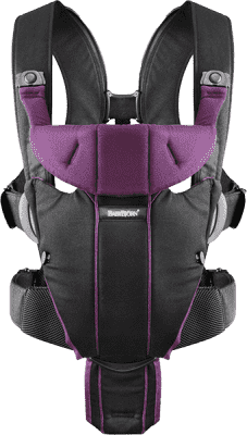 BABYBJÖRN Nosítko Miracle – Black/Purple