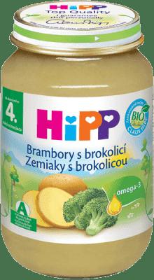 HIPP BIO detský príkrm zemiaky s brokolicou 190g