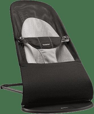 BABYBJÖRN Lehátko Balance Soft – Black/Gray Mesh