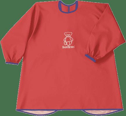BABYBJÖRN Zástěrka na krmení a hraní Smock – Red