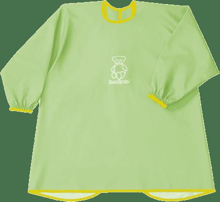 BABYBJÖRN Zástěrka na krmení a hraní Smock – Green