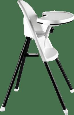 BABYBJÖRN Stolička vysoká s pultíkom kŕmiacej White