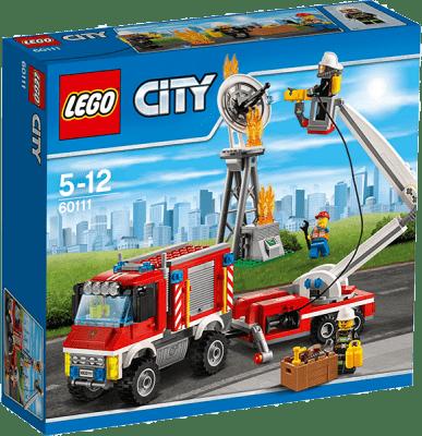 LEGO® City Fire Strażacki wóz techniczny