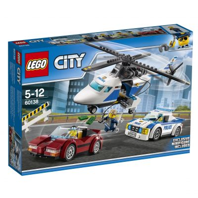 e12303773 LEGO® City 60138 Naháňačka vo vysokej rýchlosti | Feedo.sk