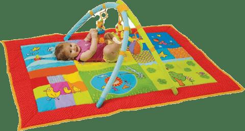 TAF TOYS Hrací deka s hrazdou Chytráček II
