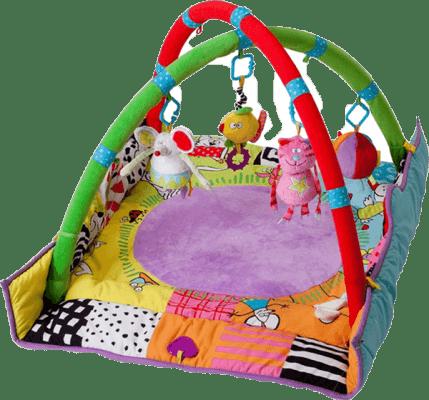 TAF TOYS Hracia deka s hrazdou pre novorodenca