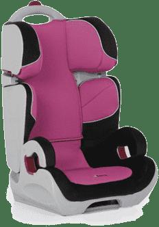HAUCK Autosedačka Bodyguard 2/3 black/pink 2016