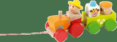 SCRATCH Ťahací traktor s aktivitami
