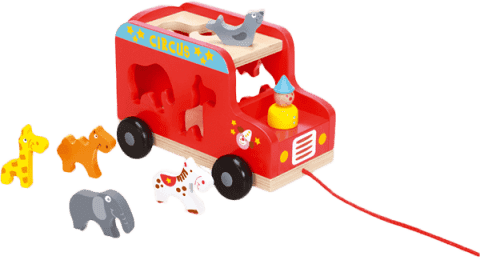 SCRATCH Vkládací náklaďák se zvířátky
