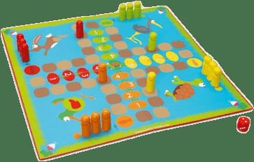 SCRATCH Stolní hra Zahrádka 2v1