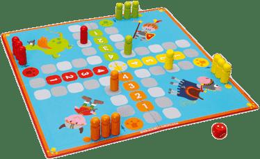 SCRATCH Stolní hra Vikingové 2v1