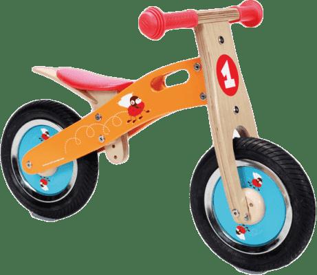 SCRATCH Dřevěné odrážedlo Malý závodník