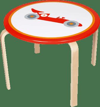 SCRATCH Drevený detský stôl Formule