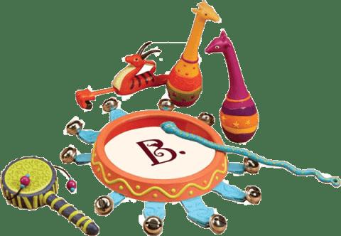 B-TOYS Sada hudebních nástrojů Jungle Jingles