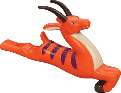 B-TOYS Píšťala Antilopa