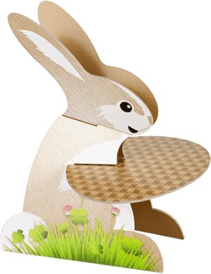 TESCOMA Etažérka zajačik DELÍCIA , ošítky