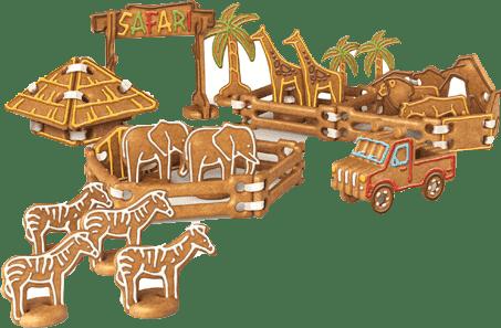 TESCOMA Perníkové Safari DELÍCIA KIDS, souprava vykrajovátek