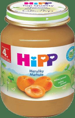 HIPP BIO ovocný príkrm Marhule 125g
