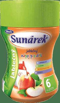 SUNÁREK Jablečný rozpustný nápoj - dóza 200g