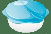 TESCOMA Cestovná miska s lyžičkou BAMBINI - modrá