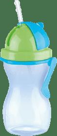 TESCOMA Butelka dziecięca ze słomką BAMBINI 300 ml - chłopiec