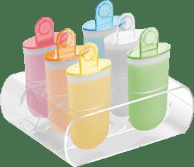 TESCOMA Tvorítka na zmrzlinu BAMBINI, 6 ks