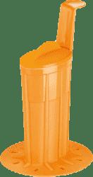 TESCOMA Tvořítko na zmrzlinovou polevu BAMBINI - oranžová