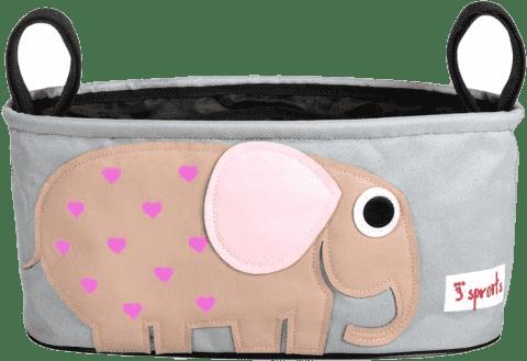 3 SPROUTS Organizér na kočík Slon