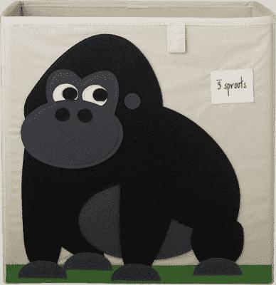 3 SPROUTS Pudełko do przechowywania Gorilla
