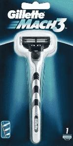 MACH3 holiaci strojček + 1x holiaca hlavica (Premium klub)