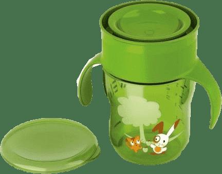 Philips AVENT Hrneček první skutečný 260 ml zelený