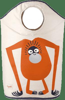 3 SPROUTS Koš na prádlo Orangutan