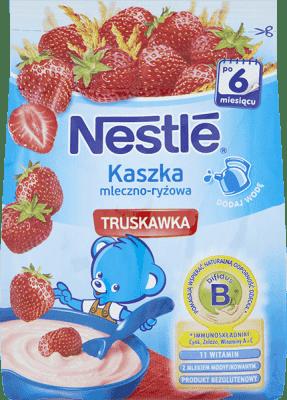 NESTLÉ Kaszka mleczno-ryżowa z truskawką (230g)
