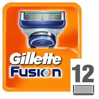 GILLETTE Fusion Manual 12ks - náhradní hlavice