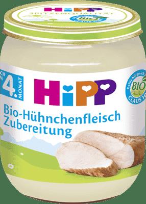 HIPP BIO Detský príkrm Kuracie mäso 125 g