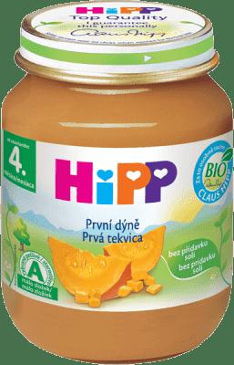 HIPP BIO Prvá tekvica 125 g - zeleninový príkrm