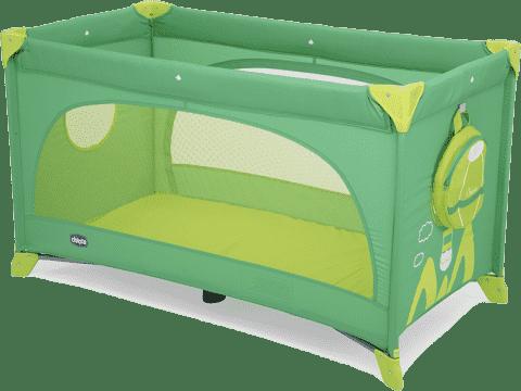CHICCO Cestovná postieľka Easy Sleep 15 green jam