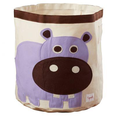 3 SPROUTS Koš na hračky Hippo