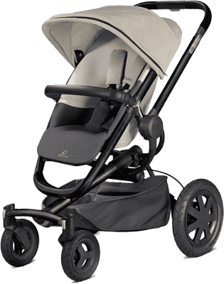 QUINNY Buzz Xtra 4-kołowy Wózek – Reworked Grey