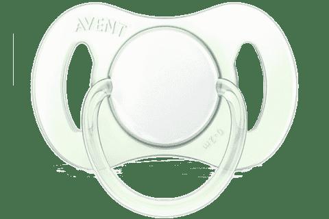 AVENT Cumlík MINI 0-2M. bez BPA, 1ks - chlapec