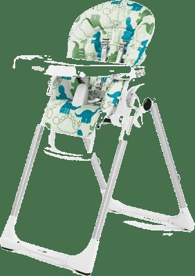 PEG-PÉREGO Krzesełko Prima Pappa Zero3 - Dino Park Bianco