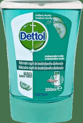 DETTOL Náplň do bezdotykového dávkovače – Svěžest okurky (250 ml)